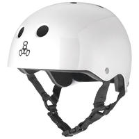 "Triple Eight Helmet / ""Standard Liner"" White / L"