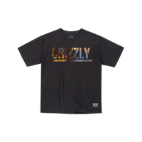 """Grizzly / """"Stamped Scenic Youth T-Shirt"""" Black / M, XL"""