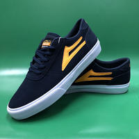 "LAKAI / ""Manchester"" Navy / Orange 9inch (27cm)"