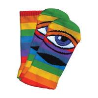 "Toy Machine / ""Sect Eye Sock"" Rainbow"