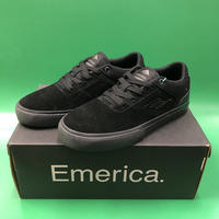 "Emerica / ""Reynolds Low Vulc Youth"" Black / Black 3inch (21cm)"