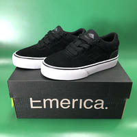 "Emerica / ""Reynolds Low Vulc Youth"" Black / White 10c (16.5cm)"
