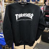 "Thrasher / ""Mag Logo Crew Neck"" Black / S, M, L"