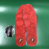 """Footprint Insole / """"Red Camo"""" 8~8H 5mm"""