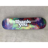 "Thank You / ""Logo Deck Tie-Dye"" 8.0inch"