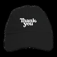 "Thank You / ""Thank You Hat"" Black"