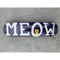 "Meow / ""Logo Deck Purple"" 7.25inch"