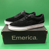 "Emerica / ""Reynolds Low Vulc Youth"" Black / White 1inch (19cm)"