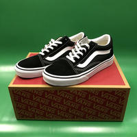 "Vans / ""Kids Old Skool"" Black / White 4inch (22cm)"