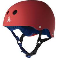 "Triple Eight Helmet / ""Sweatsaver Liner (United Red)"" Red / Navy / XL"