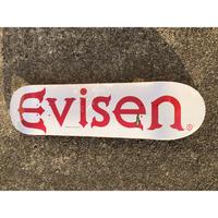 "EVISEN / ""Evi Logo White"" 8.125inch"