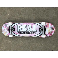 "Real / ""Oval Tropics Pink"" コンプリート 8.0inch"