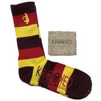 """Krooked / """"Shomolo Striped Sock"""""""