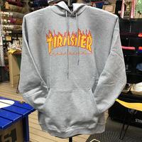 "Thrasher / ""Flame Logo Hoodie"" Gray / XL"