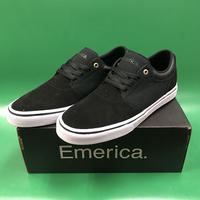 "Emerica / ""Alcove"" Black / White / Gold 9inch (27cm)"