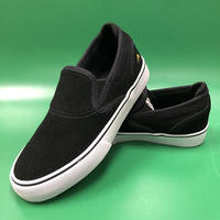 "EMERICA / ""Wino G6 Slip-On Youth"" Black / White / Gold 1inch (19cm)"