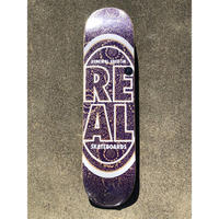 "Real / ""Stacked Oval Floral"" 7.3inch"