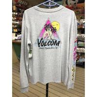 """Volcom / """"VLCM 1991"""" 長袖Tシャツ / Grey / M"""