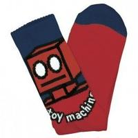 "Toy Machine / ""Robot Sock"" Red"