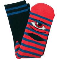 "Toy Machine / ""Sect Eye Stripe Sock"" Red / Blue"