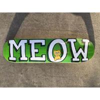 "MEOW / ""Team Logo Green"" 7.5inch"