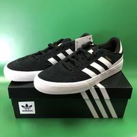 """Adidas / """"Busenitz Vulc 2"""" Black / White 9inch (27cm)"""