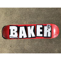 """Baker / """"Brand Logo Mini"""" White 7.3inch"""