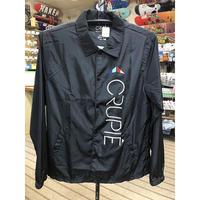 "Crupie / ""Apex Logo Coach Jacket"" Black / XL"