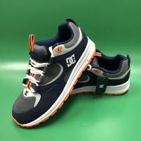 "DC SHOES / ""Kids Kalis Lite"" Navy / Grey 3.5inch (21.5cm) (実寸)"