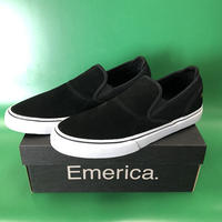 "Emerica / ""Wino G6 Slip On"" Black / White / Gold 10.5inch (28.5cm)"