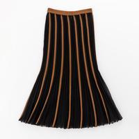 pintuck flair skirt