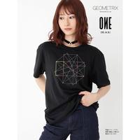 【GEOMETRIX】ONE GEOMETRIX Tシャツ/ブラック