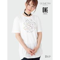【GEOMETRIX】ONE GEOMETRIX Tシャツ/ホワイト