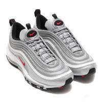 NIKE ナイキ AIR MAX 97 OG QS METALLIC SILVER/VARSITY RED -BLACK-WHITE
