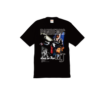 """18SS""   PANDEMIC  PREMIUM Tee   -MJ- -BLACK-"