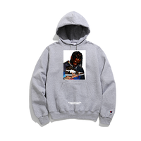 """19SS""   PANDEMIC×CHAMPION  パンデミック×チャンピオン  Kicks Scott  Hoody -Travis Scott×Jordan1-   -Gray-"
