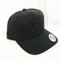 """19SS""  PANDEMIC  パンデミック   Snap Back Cap -This is not-  -Black/Black-"