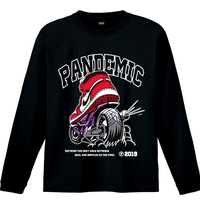 """19SS""  PANDEMIC  PDMC Kicks Art L/Tee   -2color-"