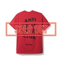 ANTI SOCIAL SOCIAL CLUB  アンチソーシャルクラブ ASSC  SG City Tee -Red-