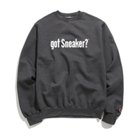 """19SS""   PANDEMIC×CHAMPION  got Sneaker massege  Sweat    -C.Gray-"
