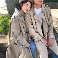 Dolche Trench Coat 【セット割有り🖤】