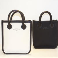 20/80 CANVAS #6 LEATHER FLAME SMALL TOTE BAG 2 COLOR
