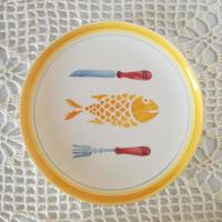 フォルミガ工房 型染めパンプレート:魚