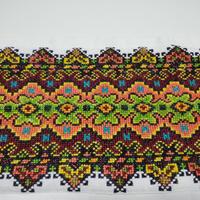 ウクライナ刺繍布 12 クッションの側面飾り