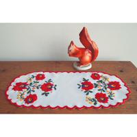 ハンガリー刺しゅう マチョーのテーブルセンターキット  刺しゅう枠つき