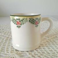 フォルミガ工房 型染めマグカップ:ローズボーダー