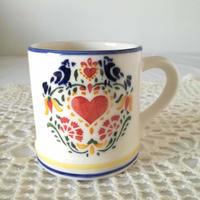 フォルミガ工房 型染めマグカップ:ハート