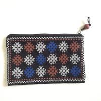ラオス ヤオ族の手刺繍ポーチ B