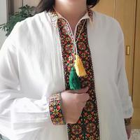 ウクライナ クロスステッチのシャツ(メンズ)
