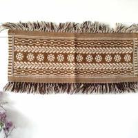 ヤノフ村の織物 タペストリー 伝統的な幾何学模様(84×33cm)#2097